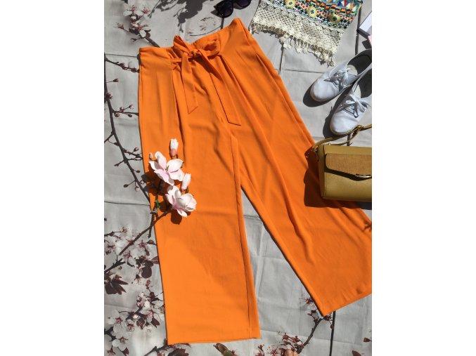 Oranžové letní kalhoty George