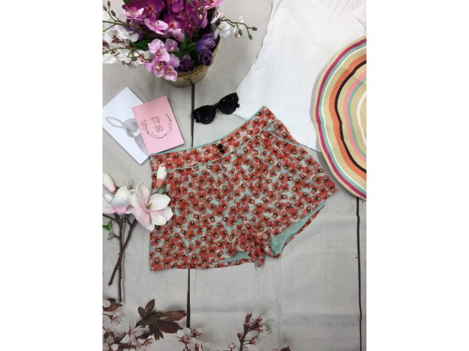 Květinové šortky H&M
