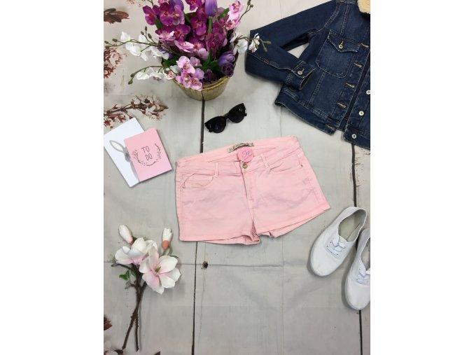 +Světle růžové šortky ZARA