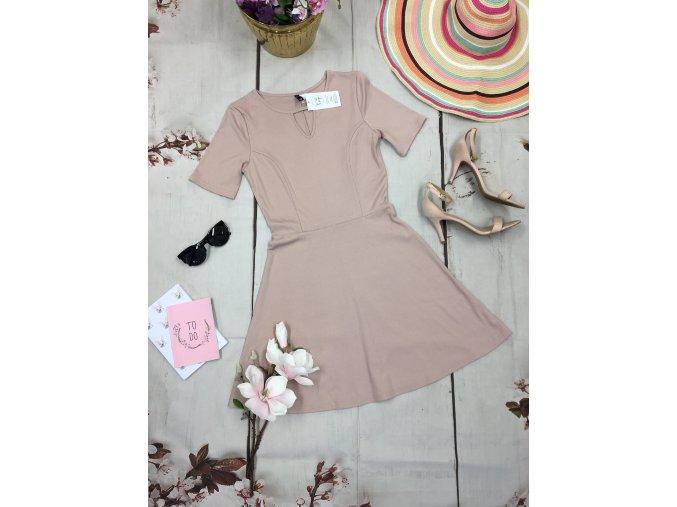 Staro-růžové šaty H&M