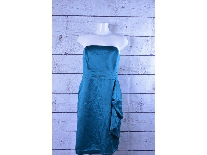 Shubette modré společenské šaty