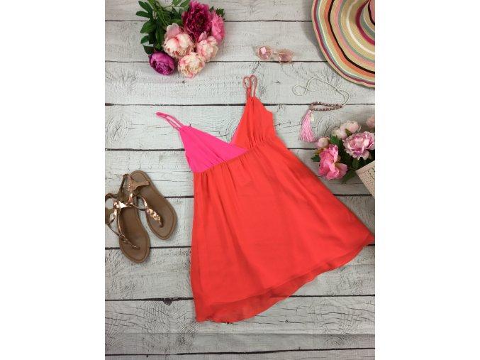 Krátké neonové šaty