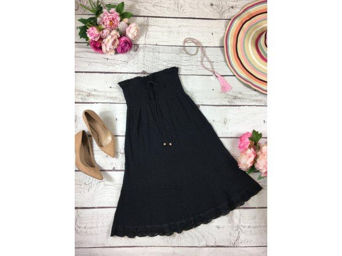 Černé letní šaty C&A