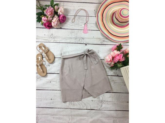 Béžová společenská sukně New Look