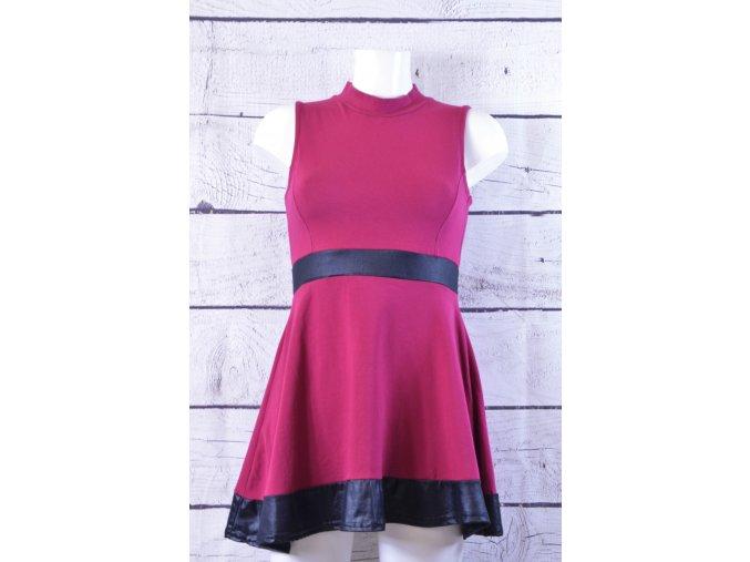 Missquided vínové šaty