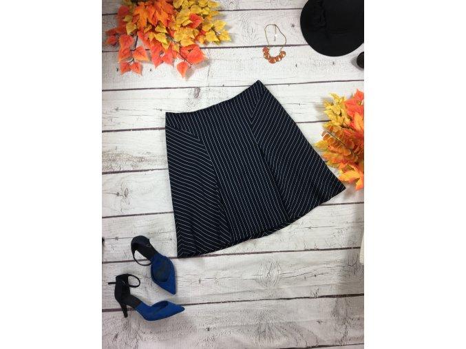 Modrá sukně s proužky HOBBS