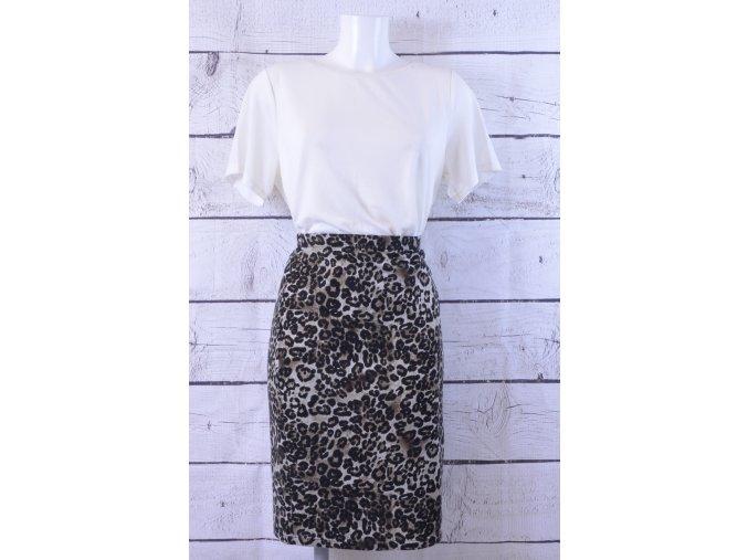 F&F gepardovaná sukně