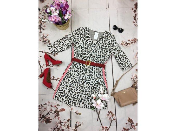 Tygrované šaty
