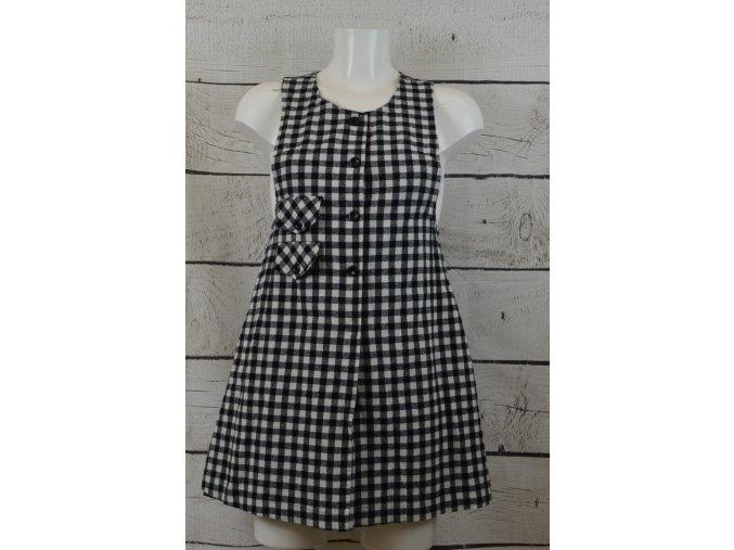 POPengland černobílé šaty