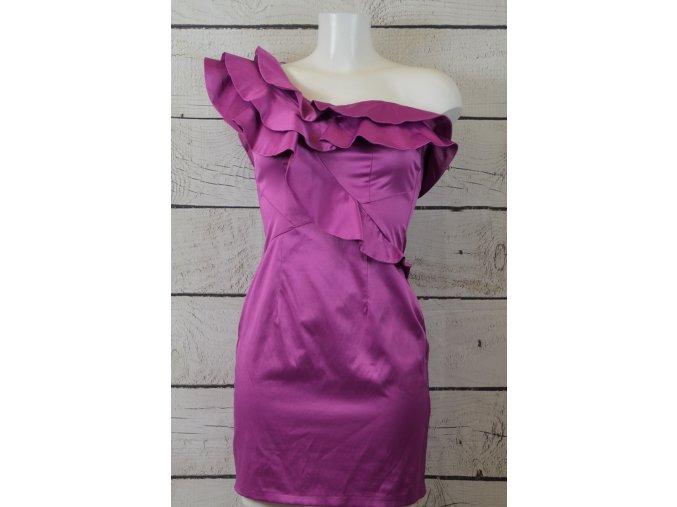 River Island společenské růžové šaty