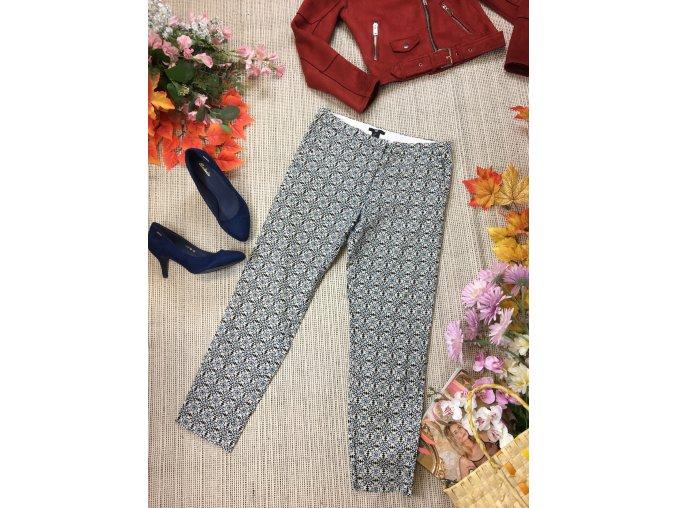 Vzorované H&M kalhoty