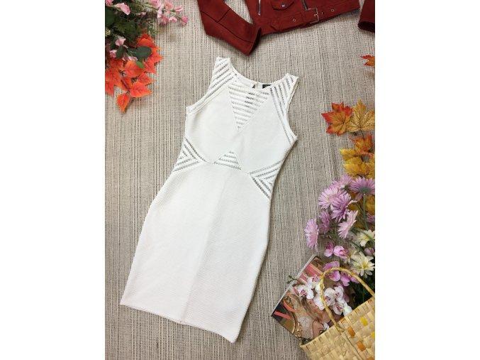 Nádherné bílé šaty Lipsy London