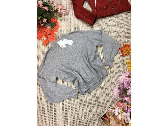 Šedý svetr H&M nový