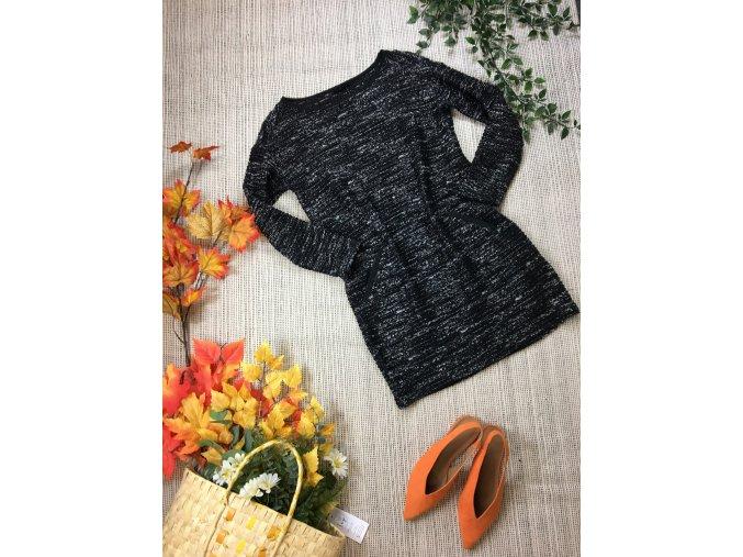 Teplé černé šaty Next