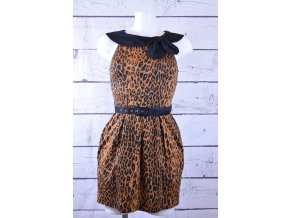 River Island gepardové šaty