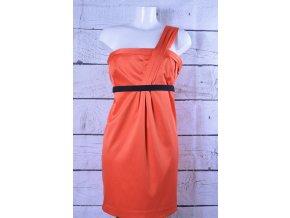 River Island oranžové společenské šaty