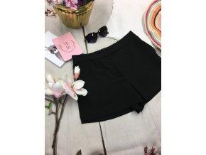 Černé společenské šortky H&M