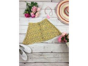 Krátká žlutá sukně H&M