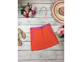 Oranžovo-růžová sukně TU