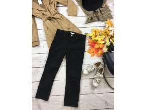 Černé kalhoty H&M