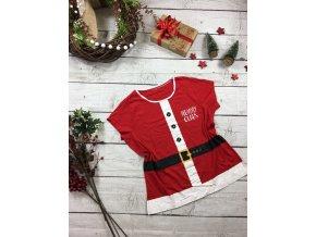 Červené triko Santa Clause George