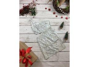 Stříbrné šaty Lipsy