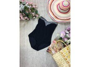 Černé jednodílné plavky M&S