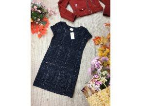 Modré šaty Next teplejší