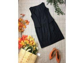 Černé šaty Pietro Filipi