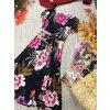 Květované midi šaty