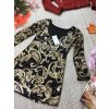 Flitrové krátké šaty