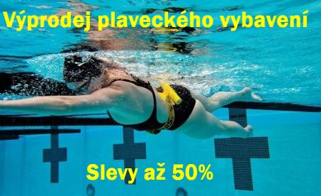 Sleva na plavecké vybavení