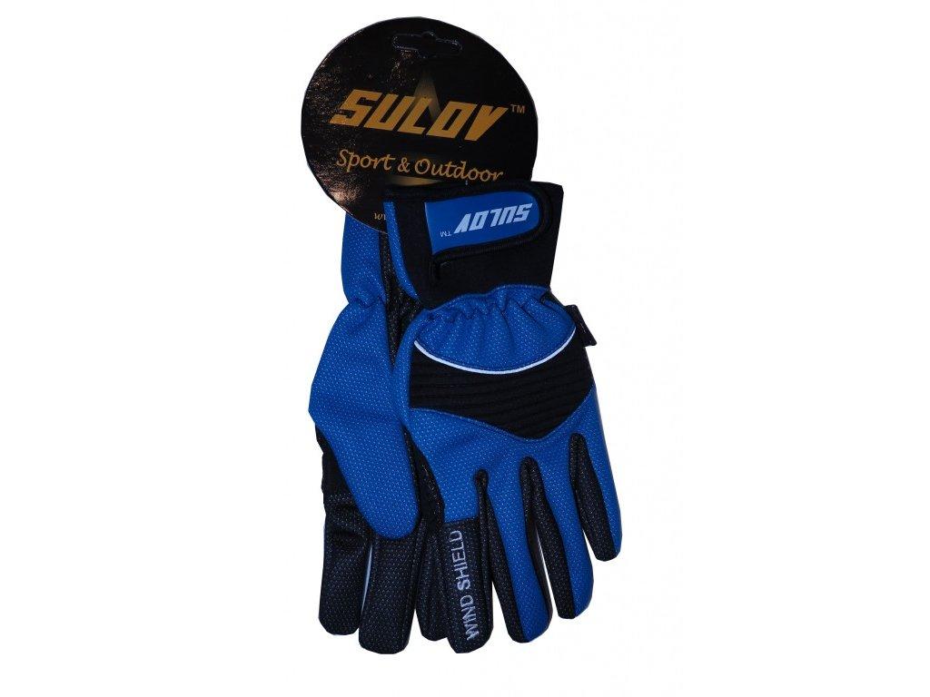 Zimní rukavice Sulov modré