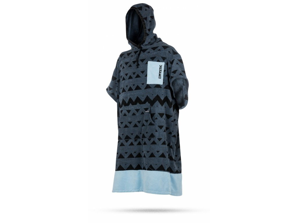 Mystic Poncho Junior Pewter