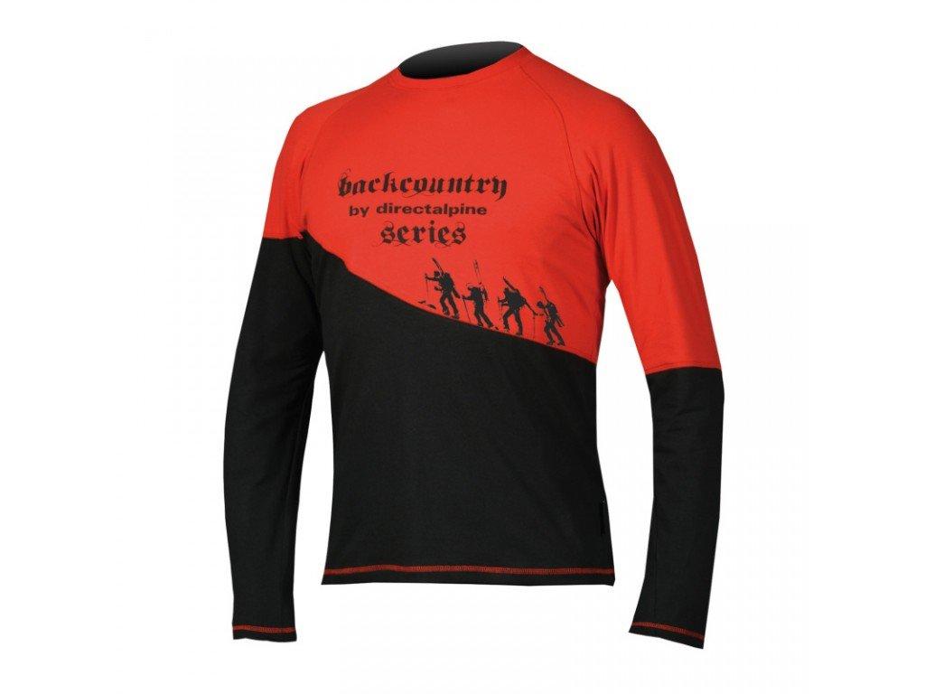 Tričko Direct Alpine BCS 1.0 shirt black/red
