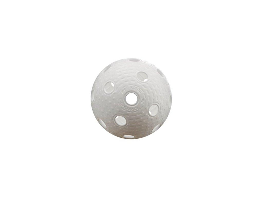 Míček florbalový Oxdox Rotor bílý