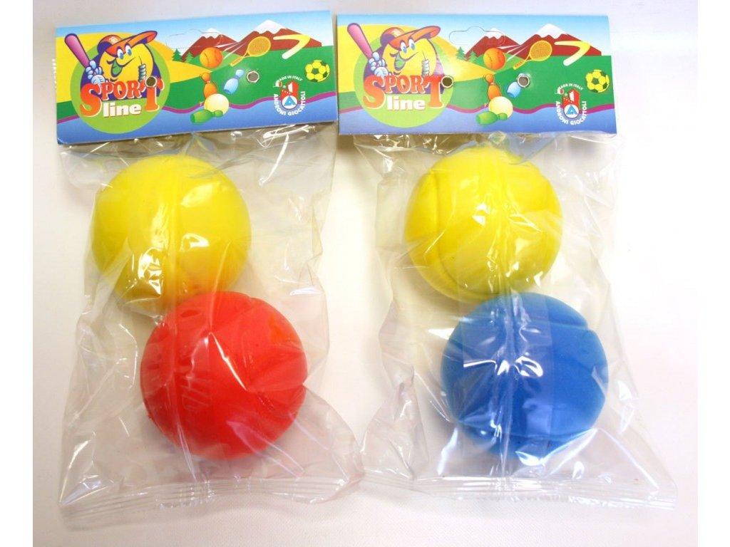 Soft tenisový míček 70 mm pevný (2ks)