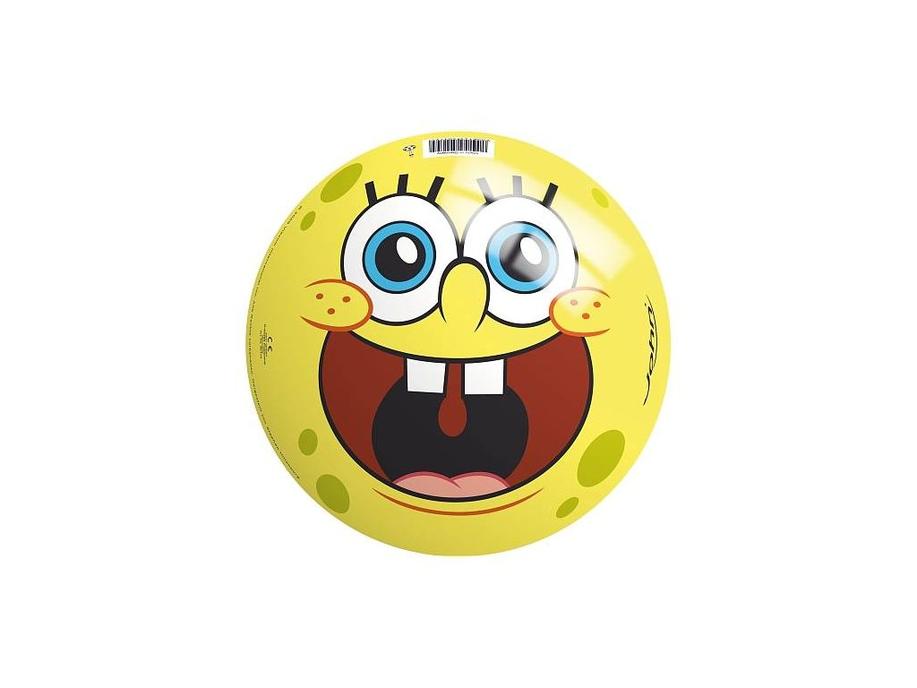 Míč Sponge Bob 230 mm s ventilkem