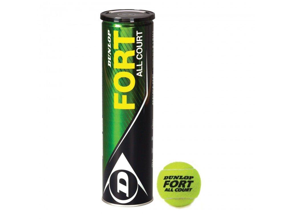 Tenisové míčky Dunlop Fort All 4 ks