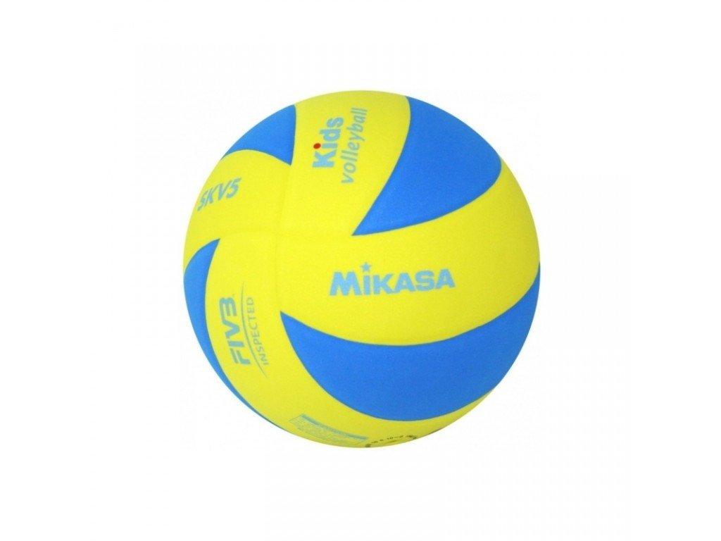 Volejbalový míč MIKASA Kids SKV5 blue-yellow