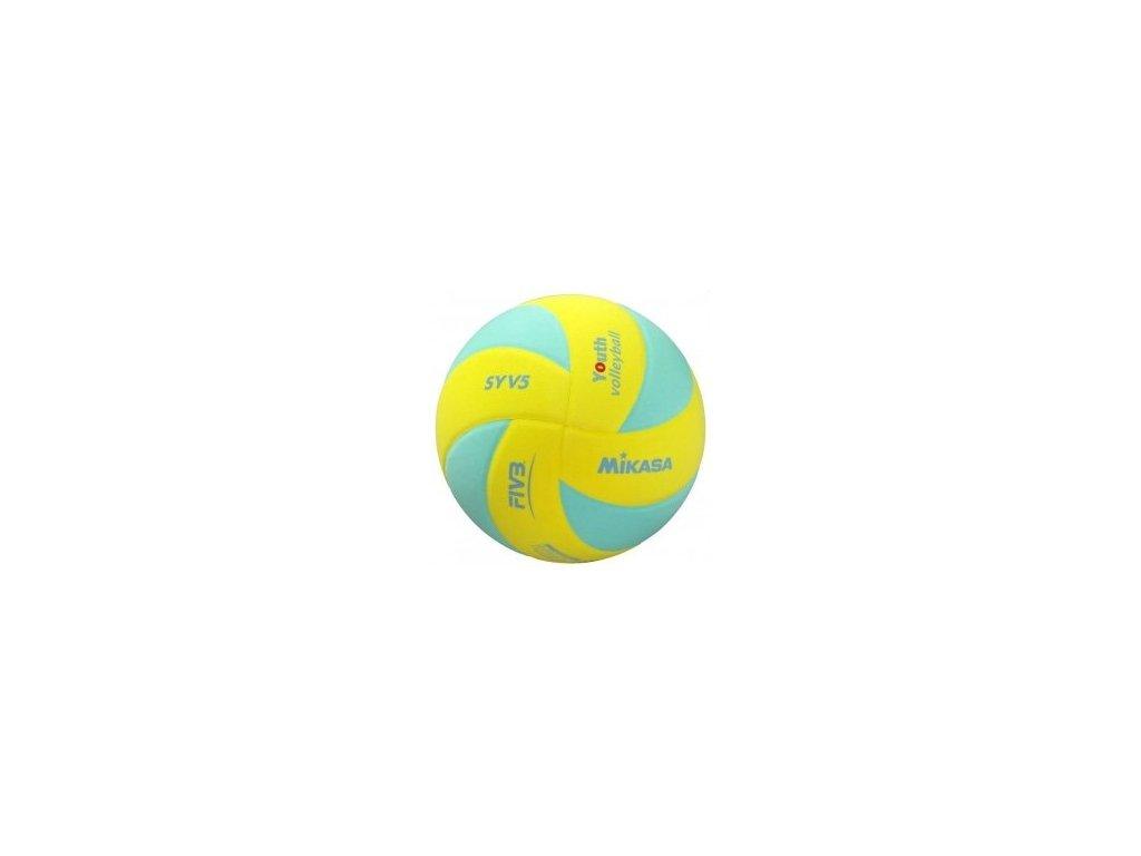 Volejbalový míč MIKASA SYV5 zeleno-žlutý