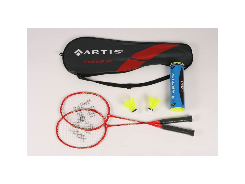 Badminton souprava ARTIS Focus 10 + míčky