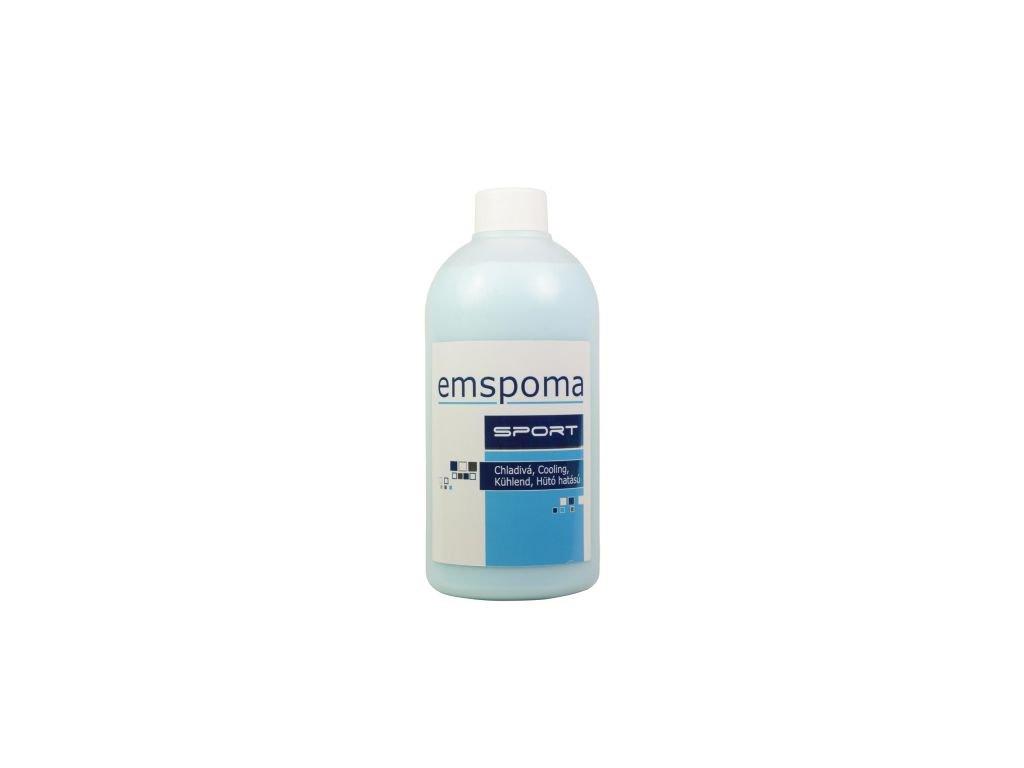 Masážní emulze Emspoma M modrá 500 ml