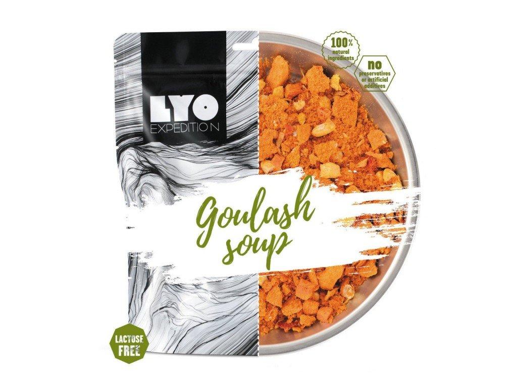 Lyofood Gulášová polévka s masem 80g