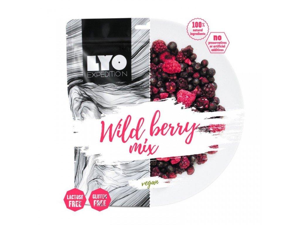 Lyoffod Wild Berry Mix (maliny, borůvky, ostružiny) 20g