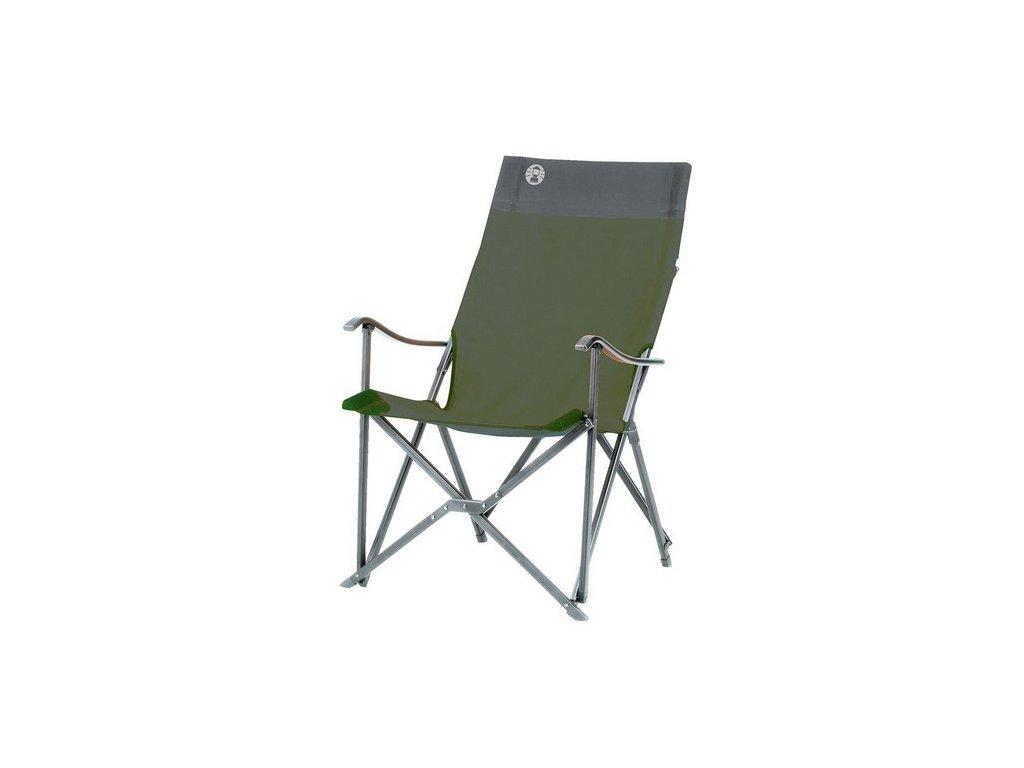 Coleman Sling Chair zelená