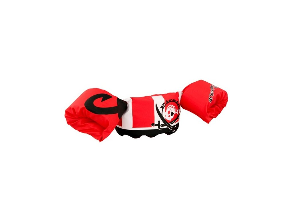 Plavaček Sevylor Puddle jumper deluxe červený - pirát