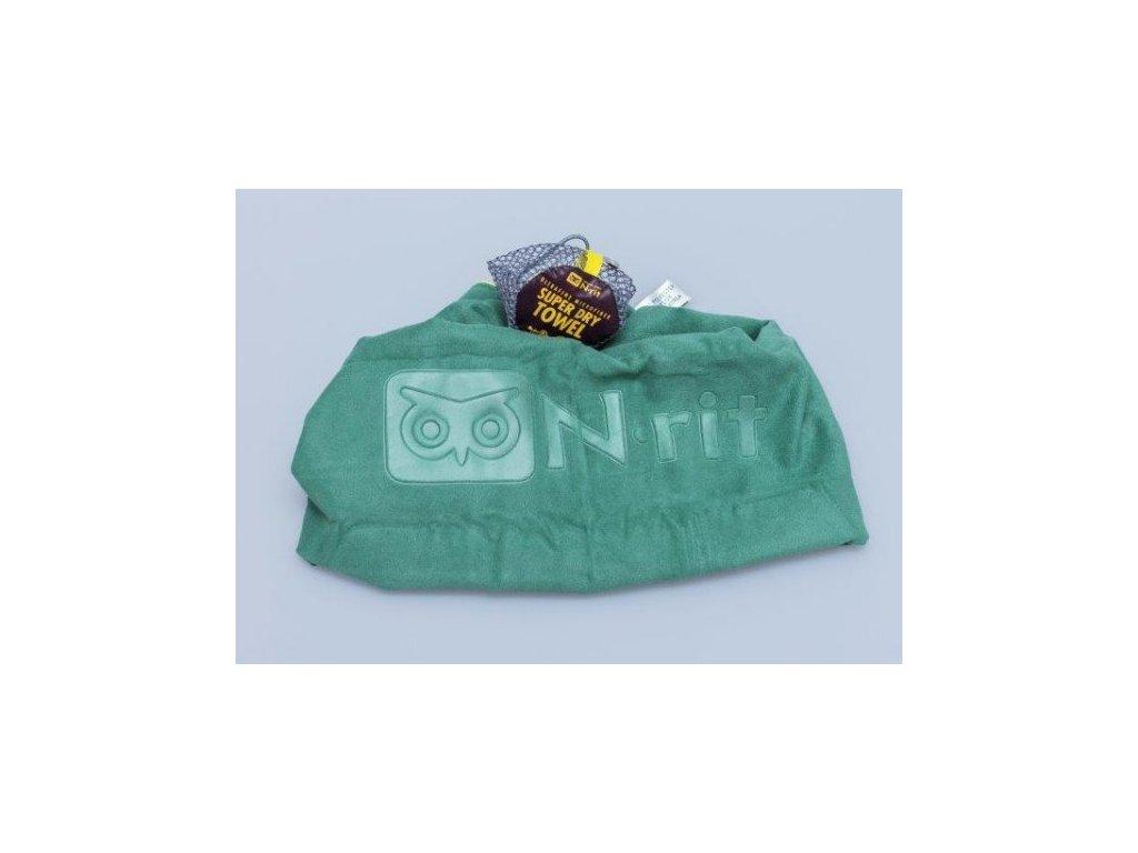 Ručník N-Rit Super Dry Towel L Zelený