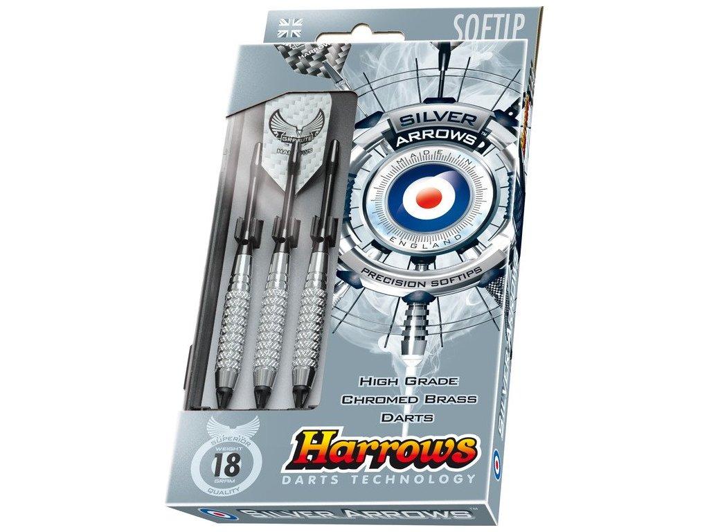 Harrows šipky Silver Arrow