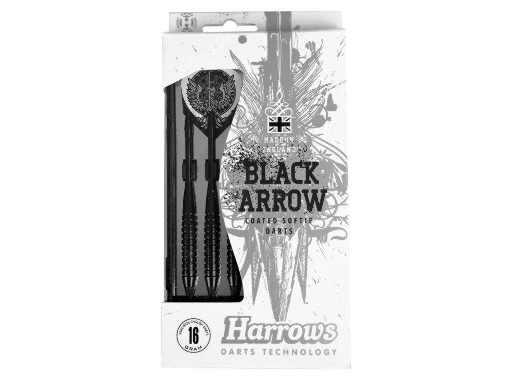 Harrows šipky Black Arrow